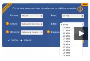 Sistema Factor Venus - Nutricionista Virtual