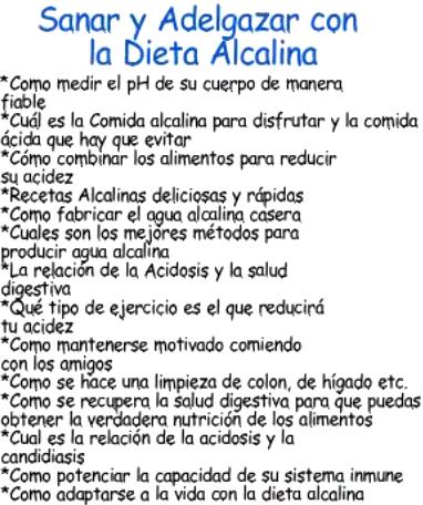 Dieta alcalina contenido 1