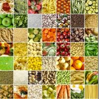 Food collage 49 pics
